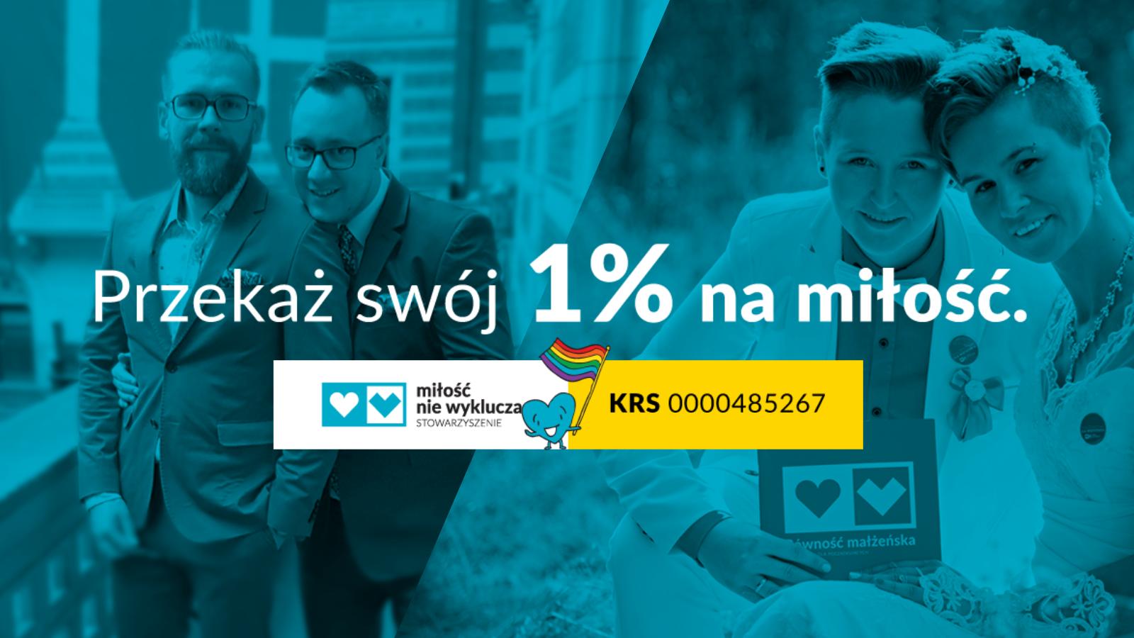 Przekaż 1% podatku na LGBT