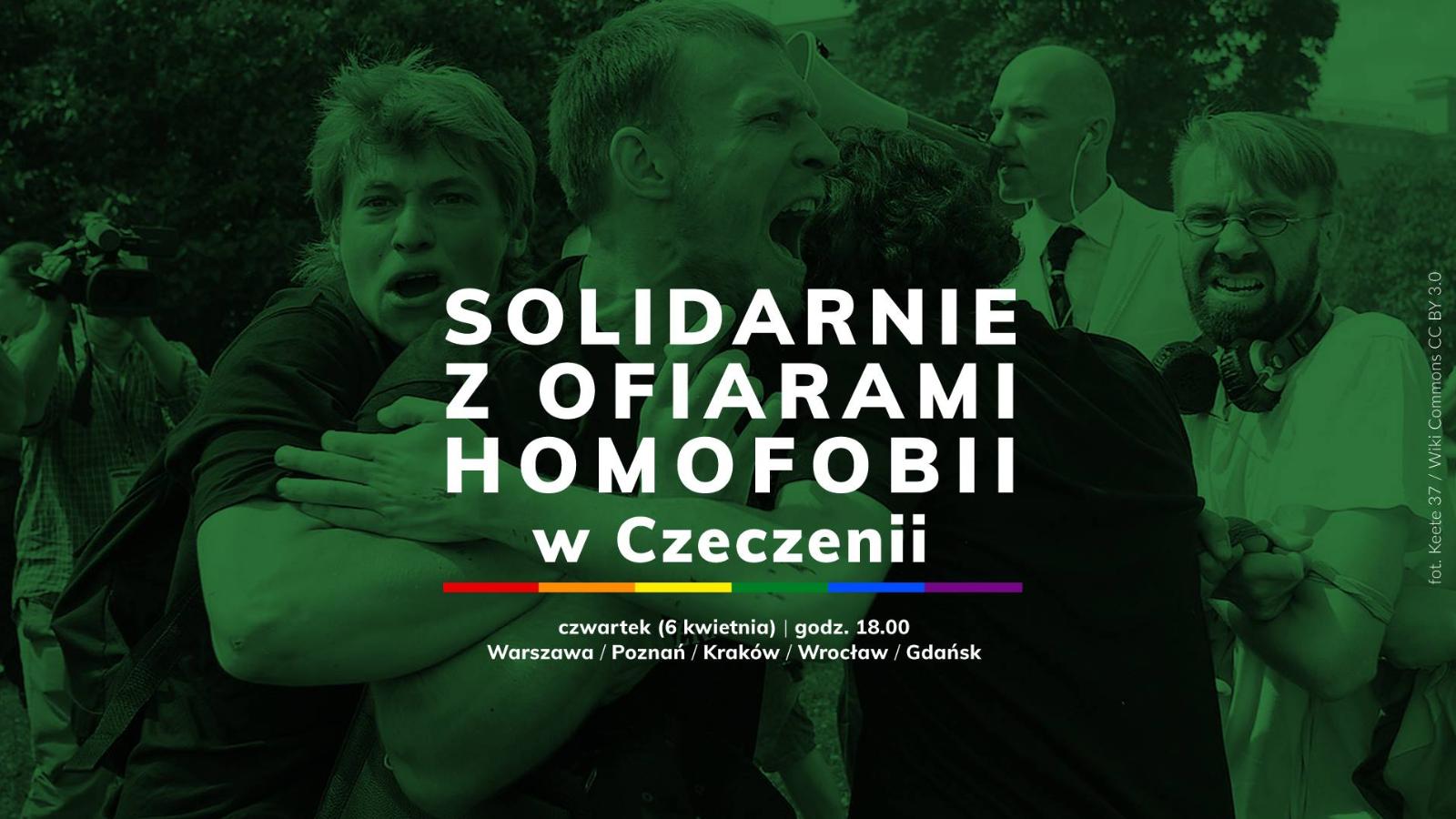 Solidarnie z ofiarami homofobii w Czeczenii