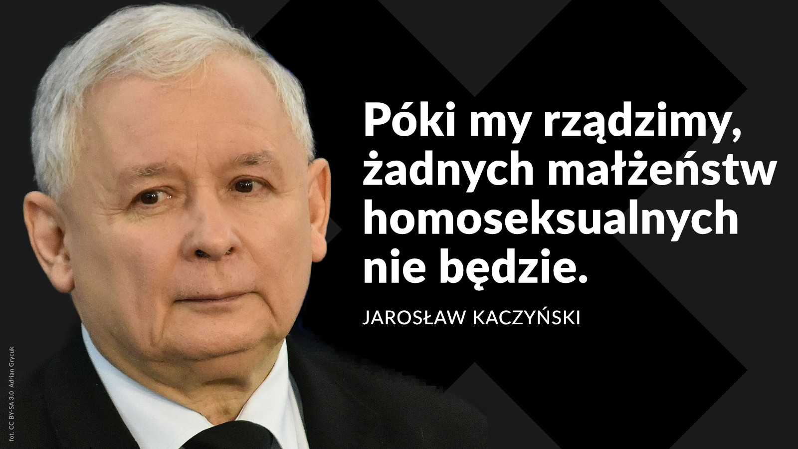 Stanowisko organizacji LGBT+ w sprawie haniebnych słów Jarosława Kaczyńskiego nt. małżeństw jednopłciowych