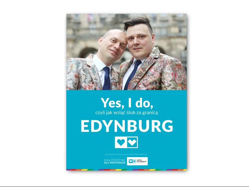 Yes, I do, czyli jak wziąć ślub LGBT za granicą: Edynburg