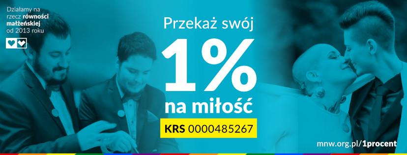 1 procent na miłość nie wyklucza lgbt