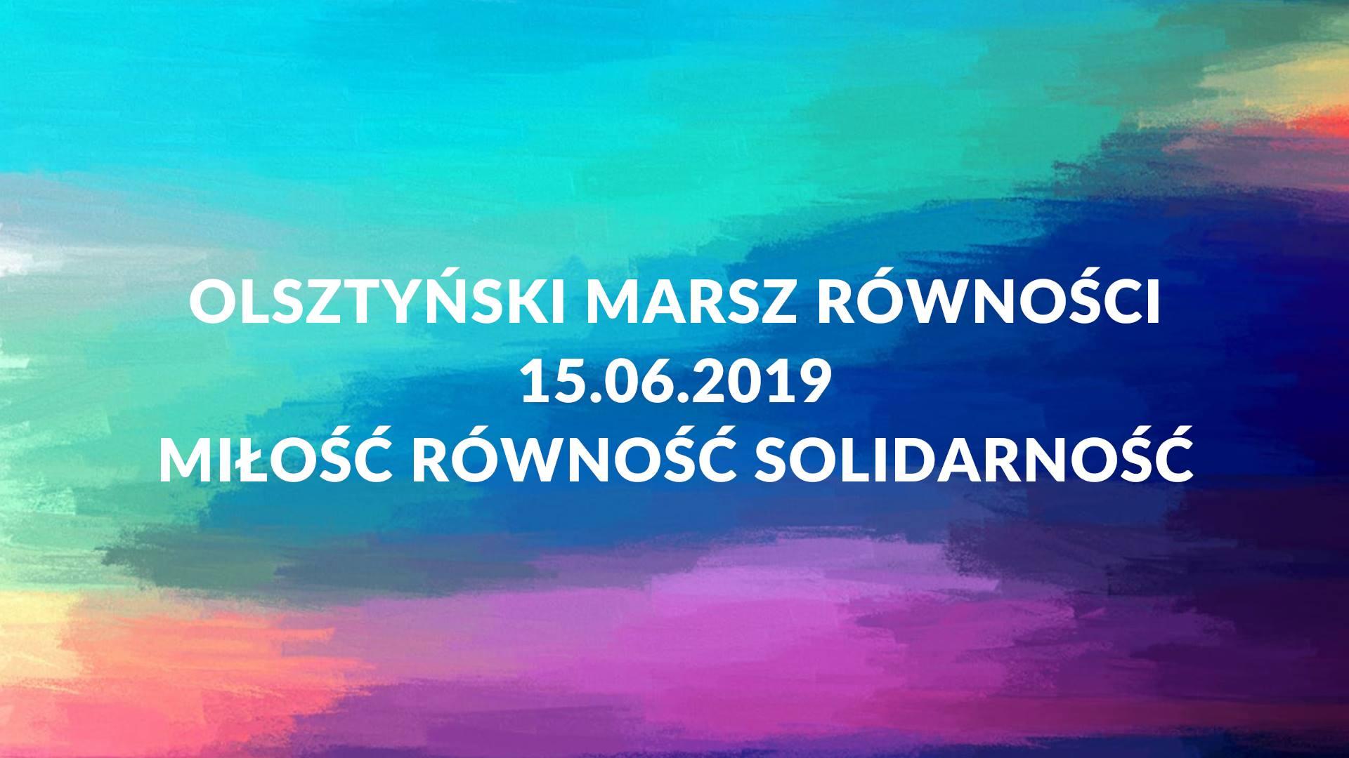 Marsz Rownosci Olsztyn