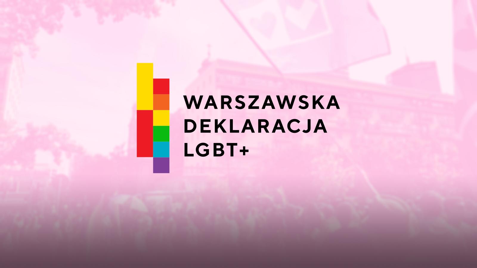 Warszawska Deklaracja LGBT+. Co się z nią dzieje?