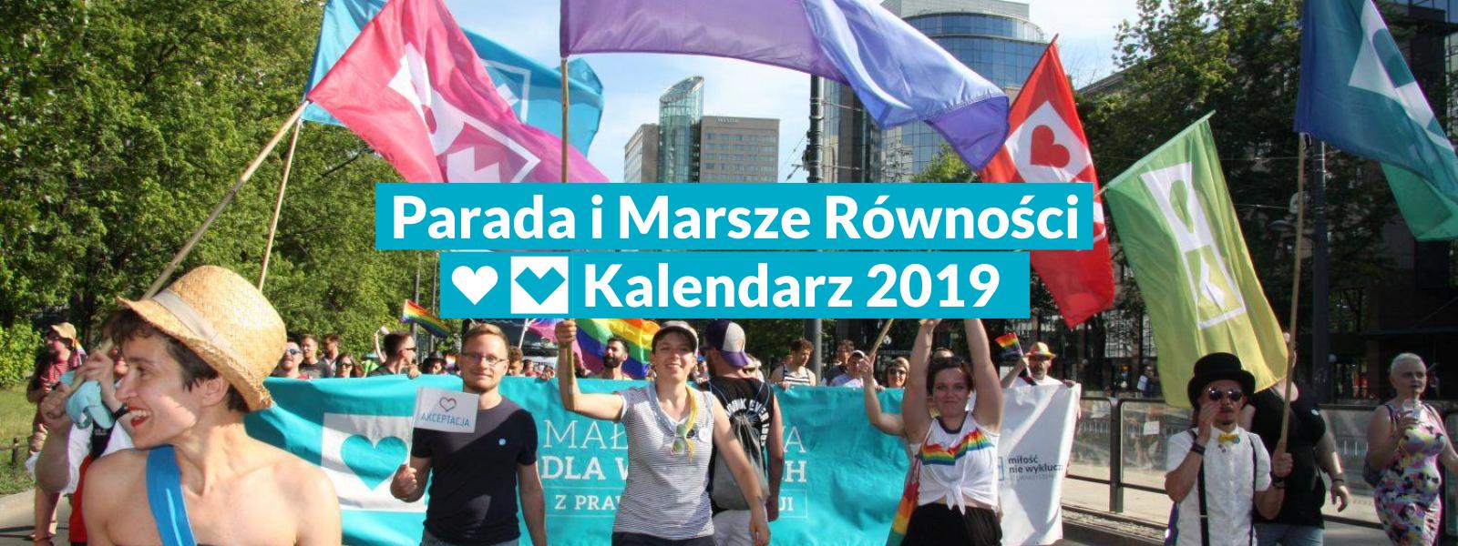 Parada i Marsze Równości 2019