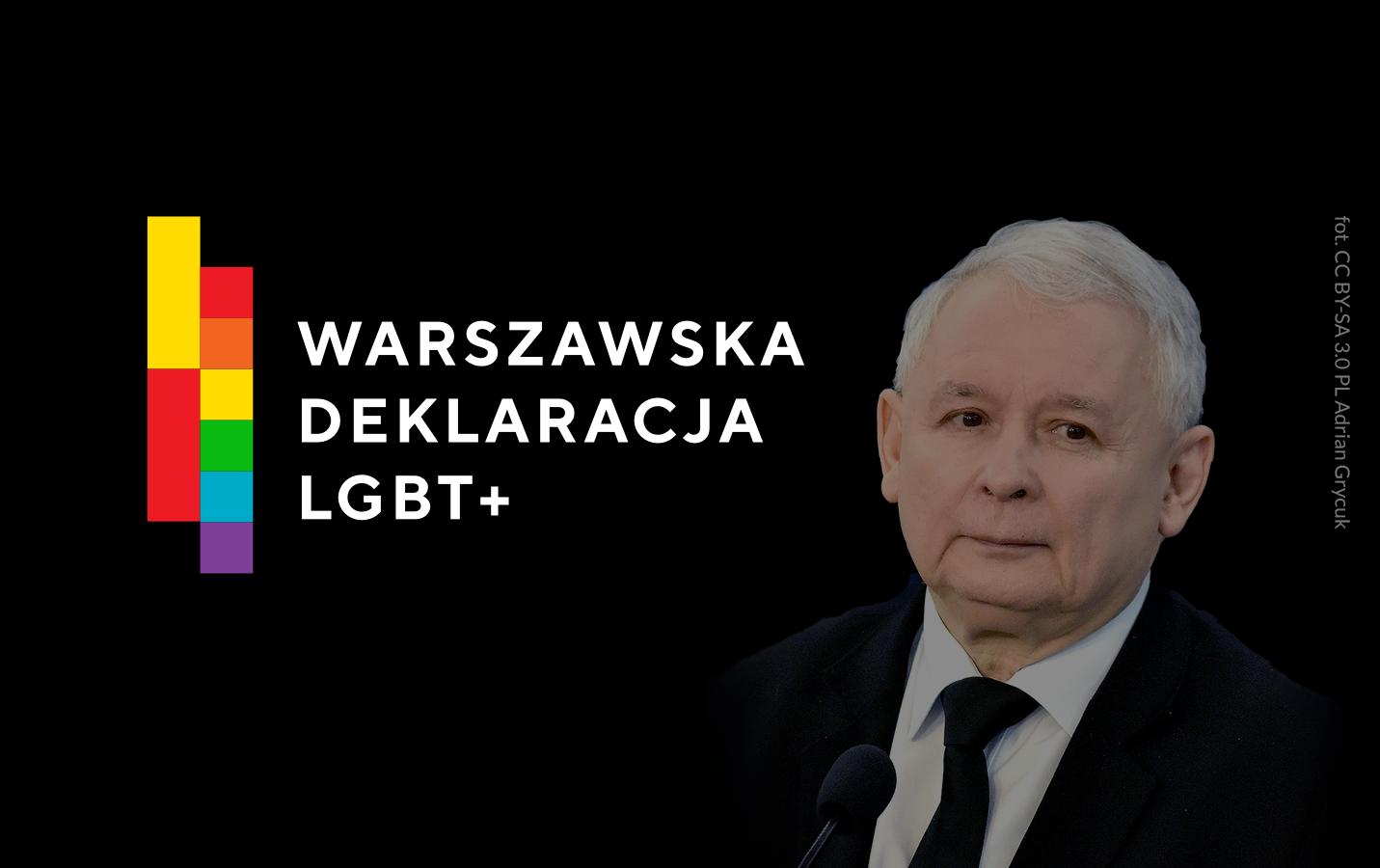 Jarosław Kaczyński konwencja PiS deklaracja LGBT+ program kampania wyborcza