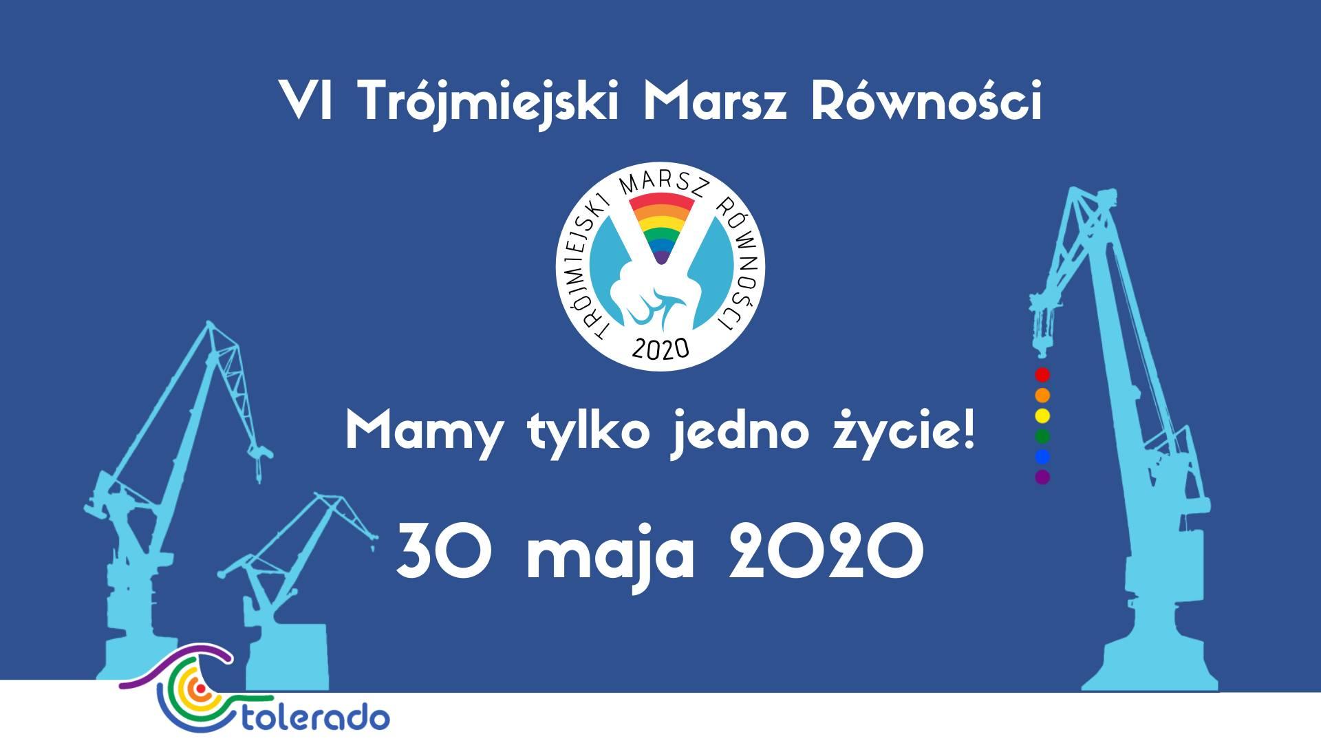 Trojmiejski Marsz Rownosci 2020