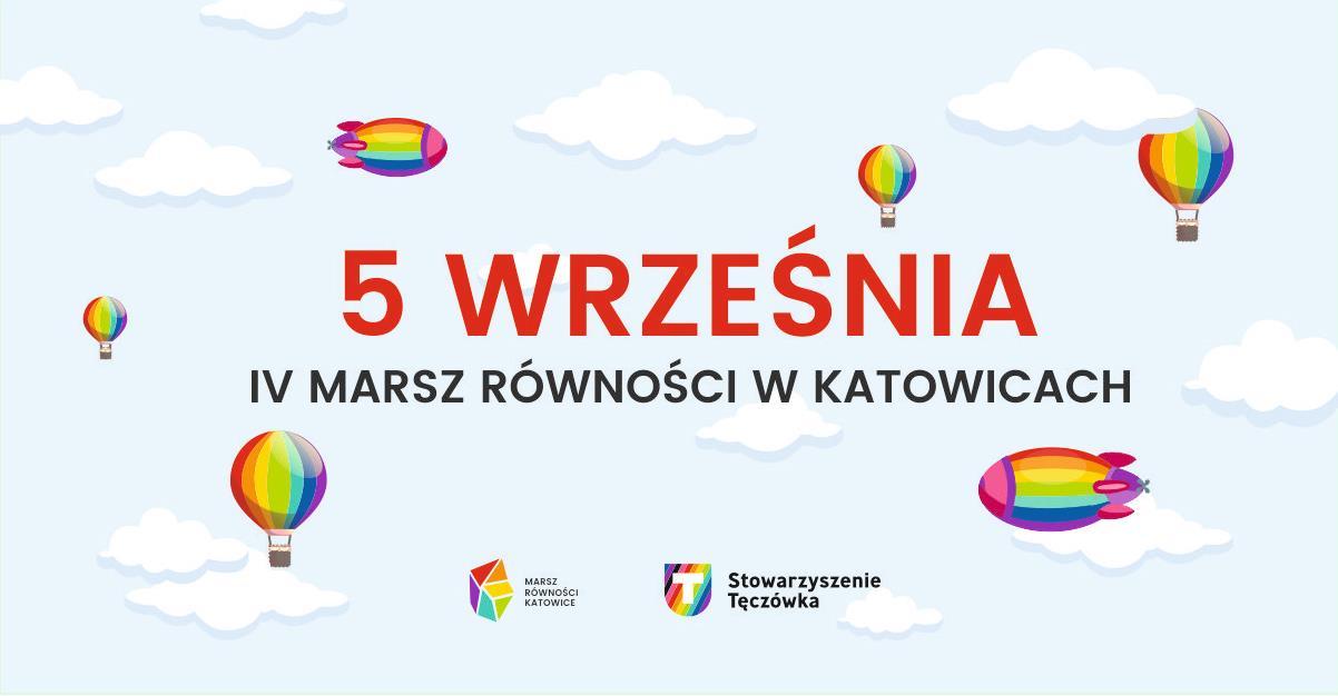 Marsz rownosci Katowice 2020 Milosc Nie Wyklucza