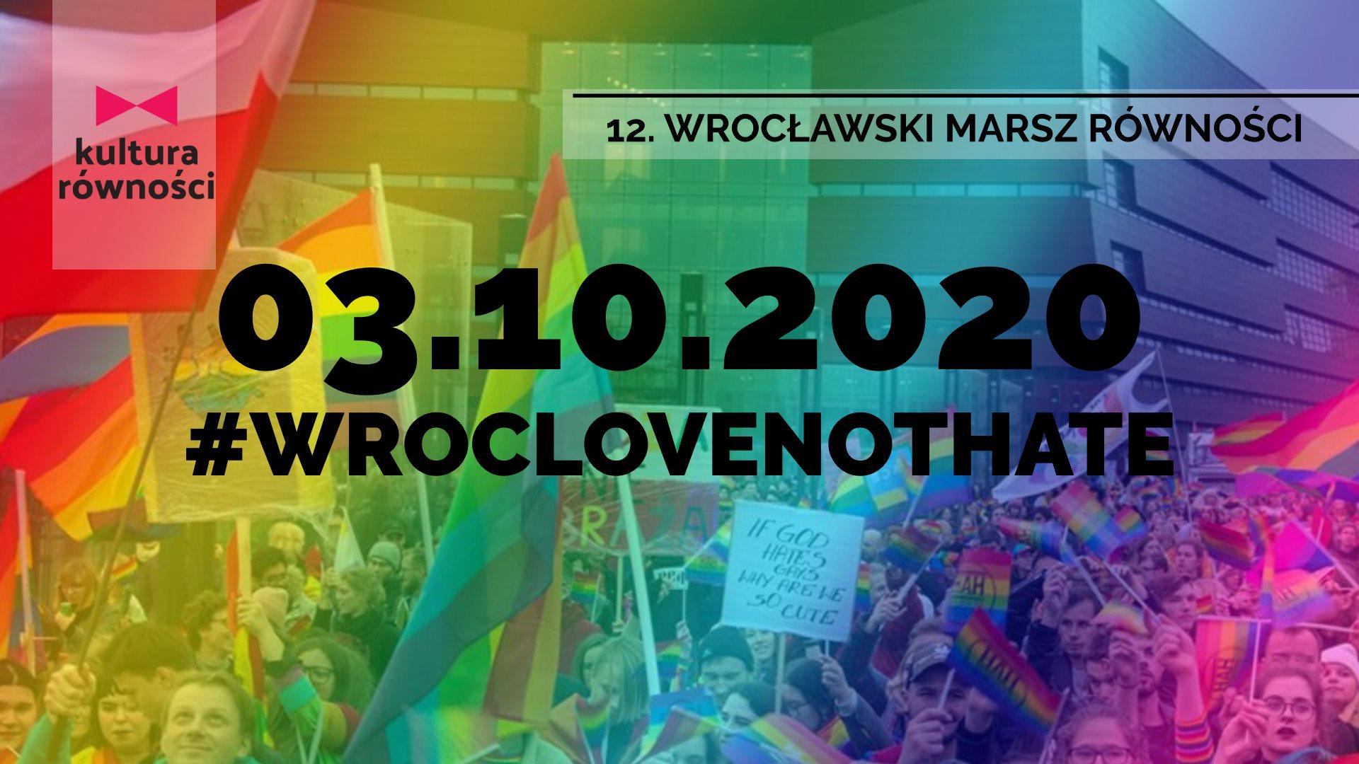 Marsz rownosci Wroclaw 2020 Milosc Nie Wyklucza