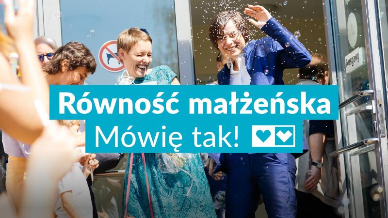 Nasza ustawa o równości małżeńskiej w Sejmie!